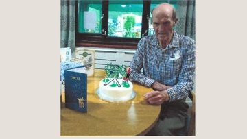 Whittlesey care Home Resident turns 80
