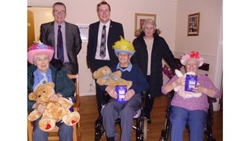 Residents battle it out in an Easter bonnet competition