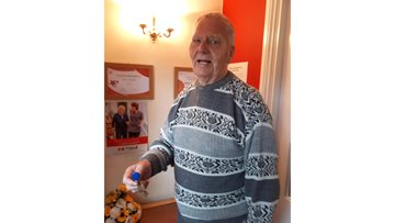 Spennymoor care home ensures Resident maintains his independence