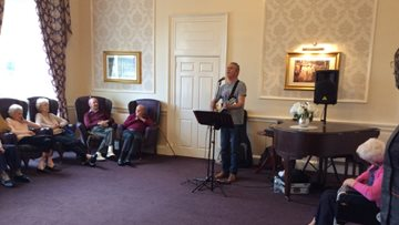Musical afternoon at Edinburgh care home