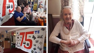 Warrington care home celebrates D-Day
