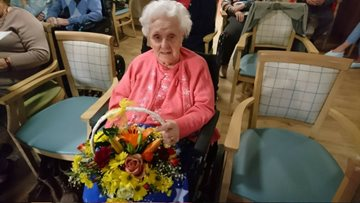 Resident Doris Celebrates her 100th Birthday