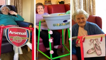 Personalised Zimmer Frames for Residents at Coventry Care Home