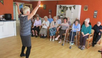 Dancing queen saves the day at Redesdale Court