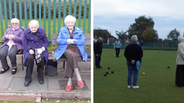 Stalybridge care home Residents have a ball at bowls competition