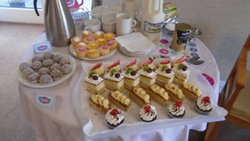 Acomb Court shows support to Dementia UK with coffee morning success