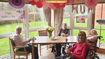 Glenrothes care home hosts Mother's Day afternoon tea