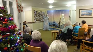 Residents at Ayr care home enjoy pantomime