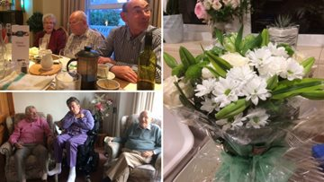 Diamond Wedding Anniversary celebrations for Cold Springs Park Resident