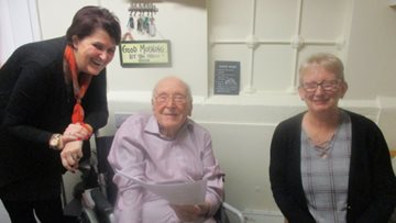 Bankwood appoints new Wellbeing Coordinator with helping hand from Resident Ron