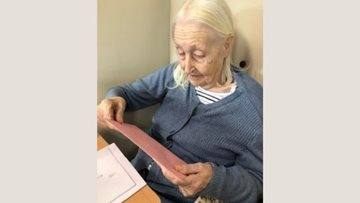 Tameside care home Resident celebrates turning 95