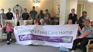 Eastleigh Home Enjoys Success in CQC Report