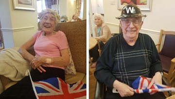 Remembrance day celebrations at Appleton Lodge