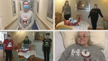 Manchester care home's Christmas jumper day