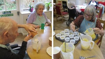 Ready, steady, cook! Baking club is a hit at Leicester care home