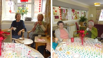 Love is in the air as Scunthorpe care home celebrates Valentine's Day