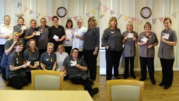 Swallownest Colleagues rewarded for Kindness