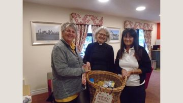 Harvest festival kindness at County Homes