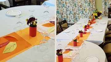 East Grinstead home's Harvest Festival themed afternoon tea