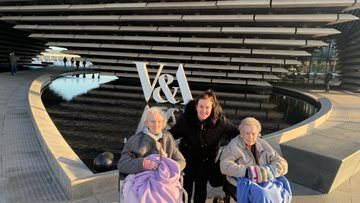 Arbroath care home Residents visit design museum