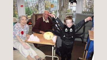 Halloween fun at Bridport care home