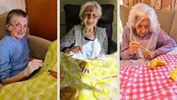 Staffordshire care home Residents start Harvest Festival