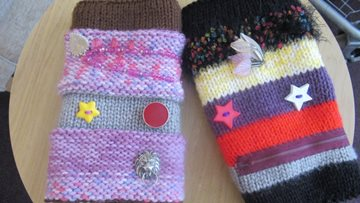 Twiddlemuffs donated to Leicester care home