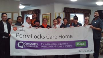 Birmingham care home celebrates success in CQC report