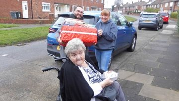 Newcastle care home helps those in need this Christmas