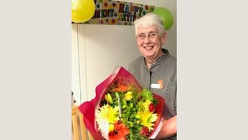 Elmwood House says a warm farewell as Head of Housekeeping retires after 22 years