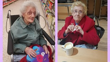 Beeches Residents enjoy a shopping trip