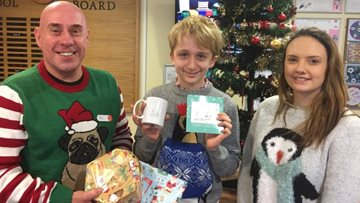 Silverwood Christmas card is a hit with helping hand from Chilwell School