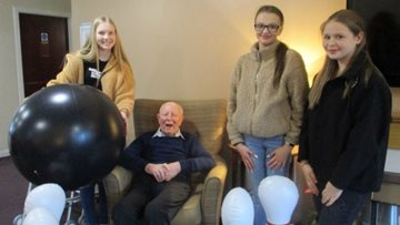 Local children visit Inverness care home
