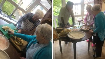 Ready, set, cook at Greenock care home