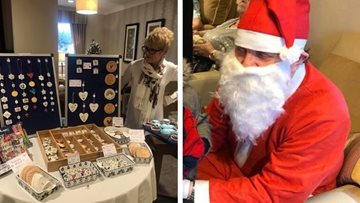 Christmas cheer for all to hear at Huddersfield care home