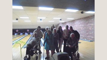 Bowling bonanza at Whittlesey care home