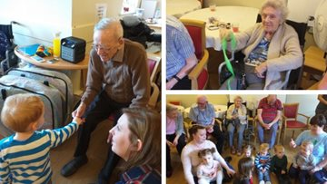 Diddi Dance Group visits Burntwood care home