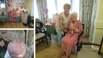 Brixworth Care Home Resident Celebrates 107th Birthday