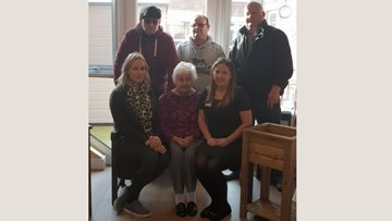 Newton Aycliffe care home receives kind donation from local woodcraft firm