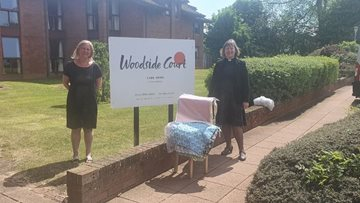 Glenrothes care home receives kind donation from local church