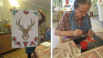 Residents get creative at Perth care home