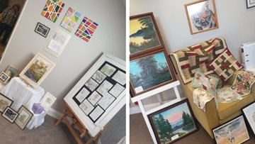 Newton Aycliffe care home hosts art extravaganza for national Care Home Open Day