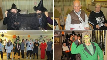 Spookiest day of the year at Guisborough care home