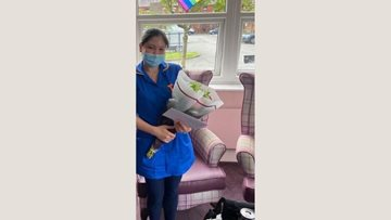 Nurse at Manchester care home passes OSCE exam