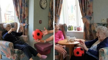 Residents at Rosebery Court wake up and shake up