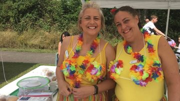 Kesteven Grange enjoys fundraising fun day at the beach