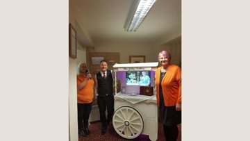 Preston care home becomes first HC-One home to own a 'jolly trolley'