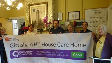 Honiton care home celebrates success in CQC report