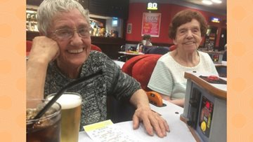 Big Bingo Fun for Ferndale Mews!