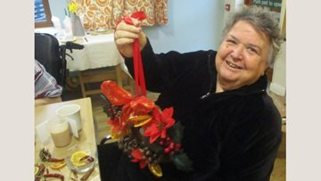 Christmas crafts at Alexander Court
